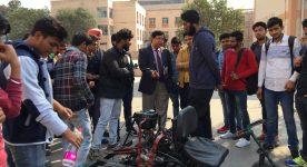 Engineering Students build go-kart using scrap