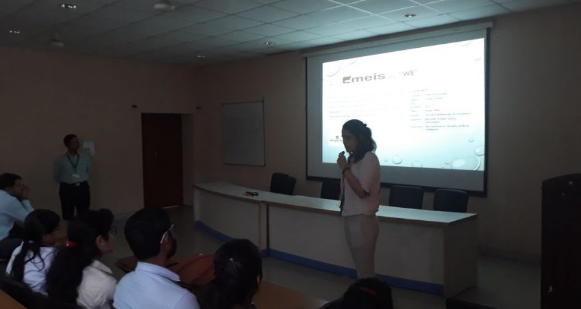 Pool-Campus Placement Drive by EMEIS TECHNOLOGIES,NOIDA