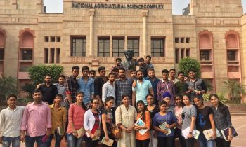 Educational visit of B.Sc. (Agri.) Students