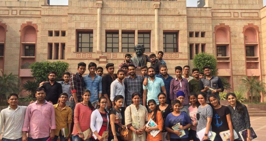 Educational visit of B.Sc. (Agri.) Students