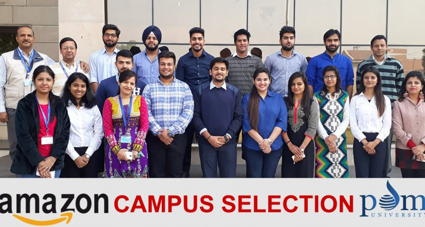Campus Recruitment Drive by Amazon