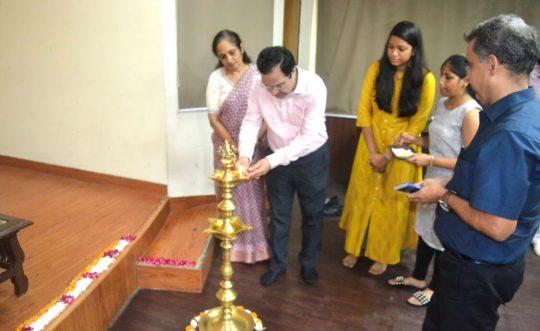 Prof. Bakhshi inaugurates Chemical Society of Sri Venkateshwara College