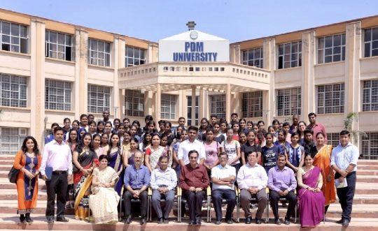 World Ozone Day Celebration at PDM University