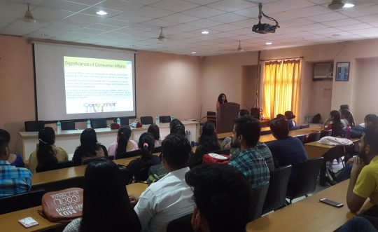 Guest Lecture on Consumer Rights and Redressal Mechanism