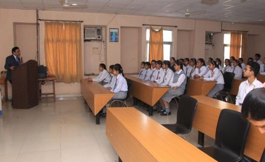 Motivational Talk by PDMU VC for +2 Students