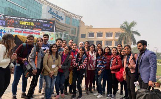 Dental Students participated at Chanakya Hub 2019