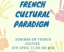Seminar on French Cultural Paradigm