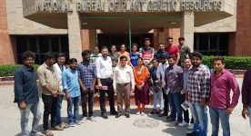 B.Sc (Hons.)Agriculture students visit to NBPGR