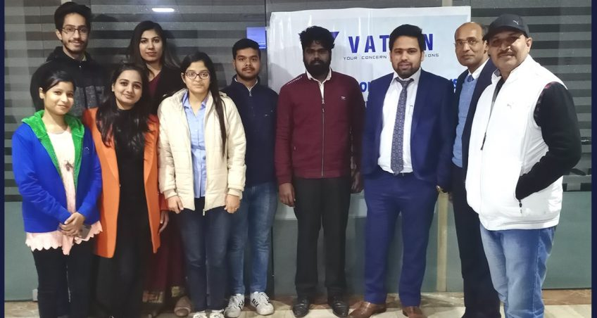 Vatsin Technology campus selection drive 2019