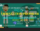 Bachelor of Pharmacy 2020 Batch Orientation Program